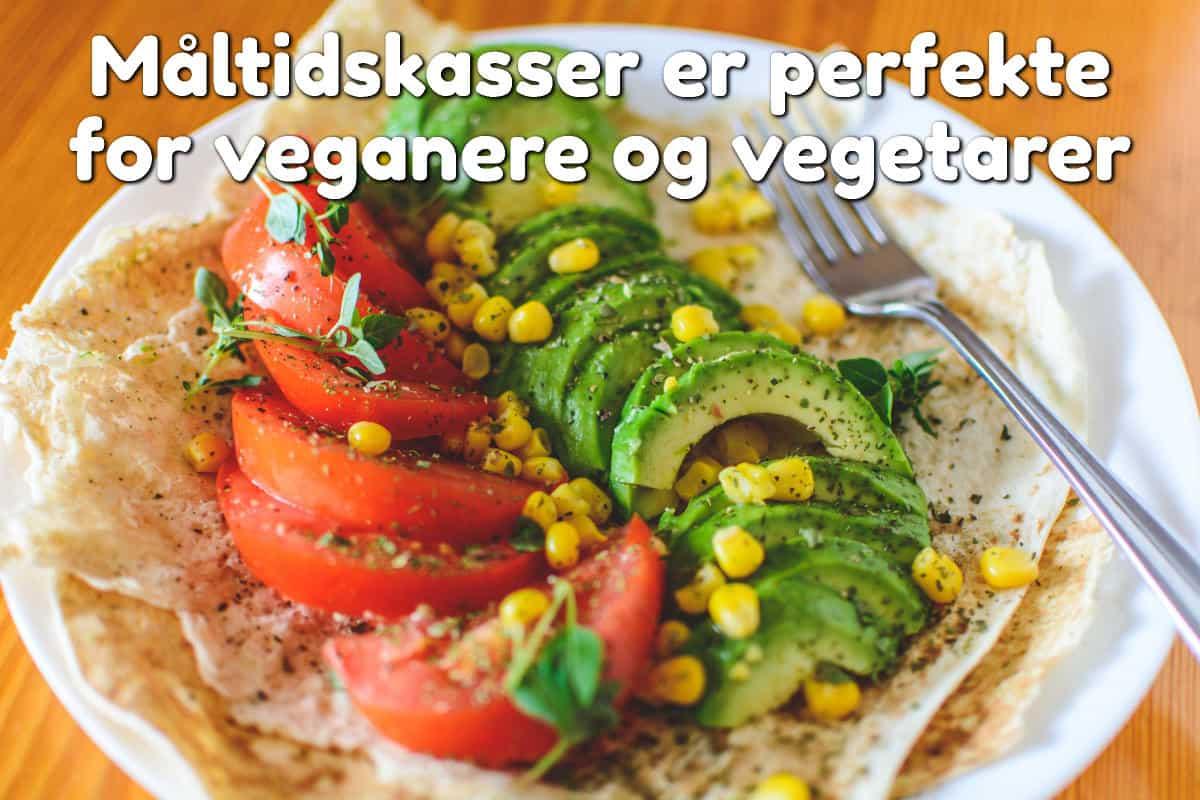 Måltidskasser er perfekte for veganere og vegetarer