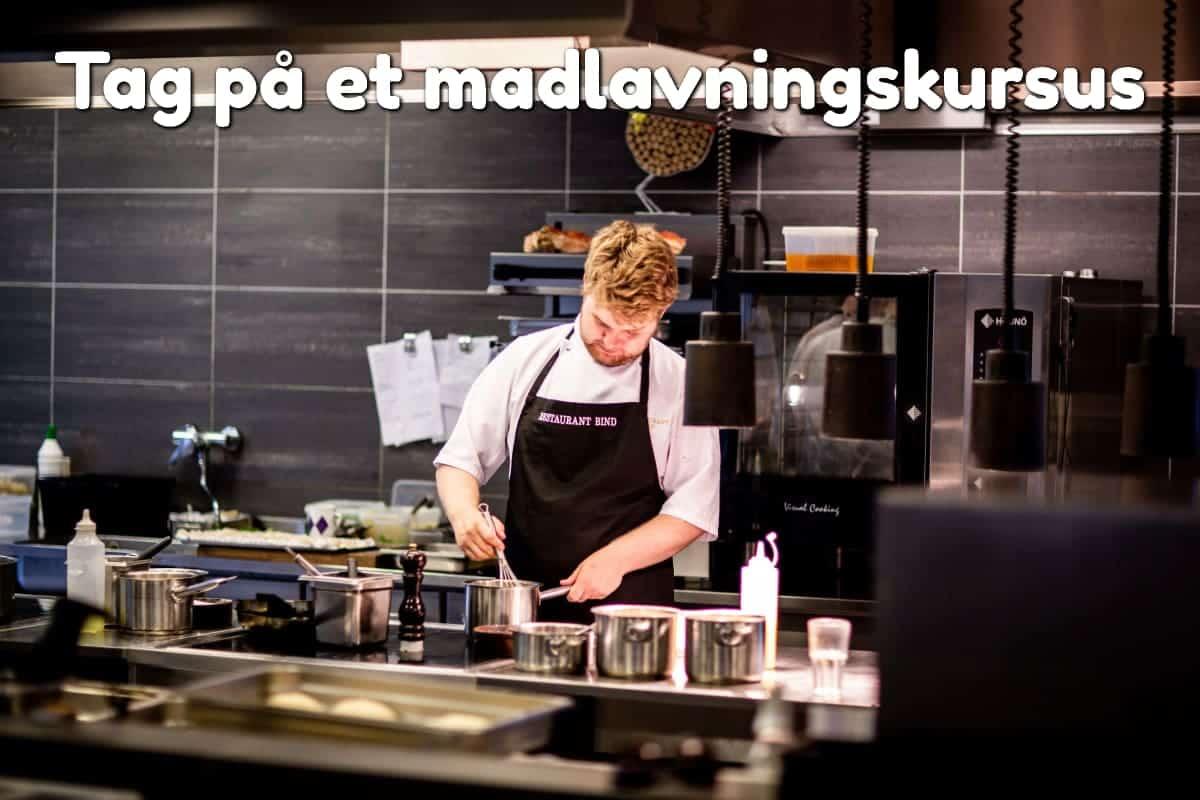 Tag på et madlavningskursus